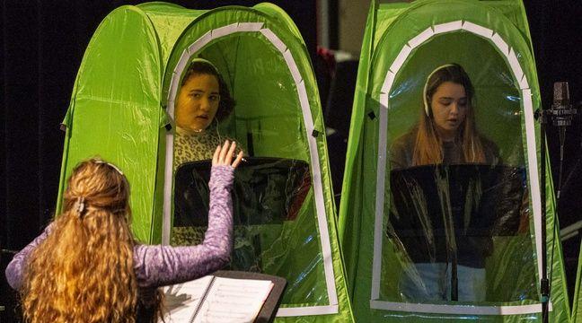 Des cours de musique dans des tentes individuelles ? Oui, aux Etats-Unis !