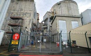 Un réacteur de la centrale nucléaire de Fessenheim, le 9 avril 2013