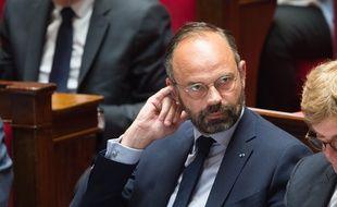 Le Premier ministre Edouard Philippe à l'Assemblée.