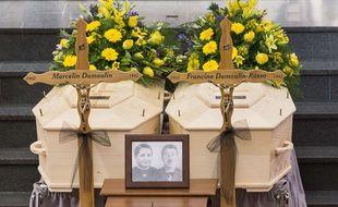 Francine et Marcelin Dumoulin ont été enterrés le 22 juillet 2017, à Saviese, en Suisse
