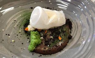 Le dessert proposé par Adrien en finale de Top Chef.