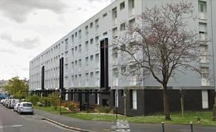 L'intervention policière s'est passée rue Urbain-le-Verrier à Nantes.