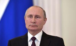 Portrait de Vladimir Poutine.