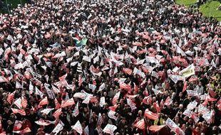 Des milliers de personnes ont défilé ce dimanche à Brest pour défendre l'emploi