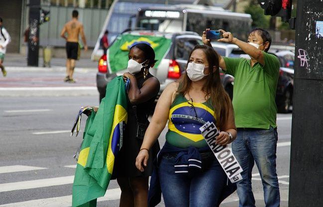Coronavirus EN DIRECT: Le Brésil enregistre une hausse record avec1.188 décès au cours des dernières 24 heures