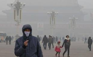 La place Tian'anmen, à Pékin, le 29 janvier 2013.