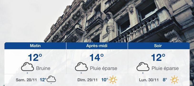 Météo Montpellier: Prévisions du vendredi 27 novembre 2020