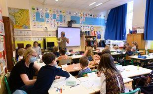 Une école élémentaire parisienne.