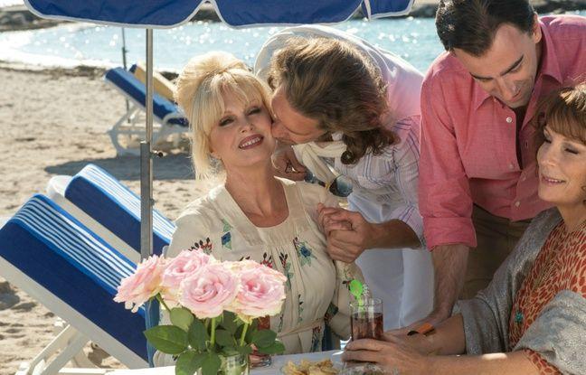 Joanna Lumley et Jennifer Saunders dans Absolutely Fabulous, le film de Mandie Fletcher