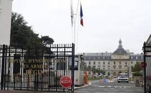 L'entrée de l'hôpital militaire Bégin à Saint-Mandé, près de Paris, le 4 septembre 2014