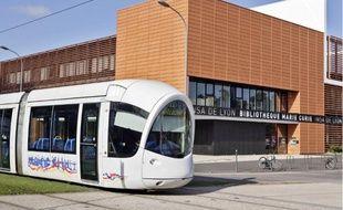 Le campus scientifique de la Doua sera relié à la Manufacture des tabacs par le tram.