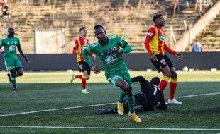 Meissa Ba et les joueurs du Red Star ont fait tomber le 5e de L1 en coupe de France.