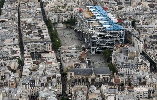 Le Centre Pompidou est un bâtiment qui reste surprenant dans le paysage parisien.