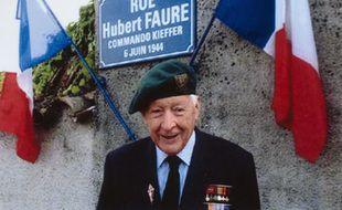 Hubert Faure, ex-membre du commando Kieffer, est décédé à l'âge de 106 ans