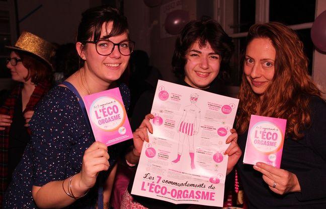 L'éco-orgasme ou Comment se faire du bien sans se faire du mal est une des premières grandes campagnes menées par Génération Cobayes.
