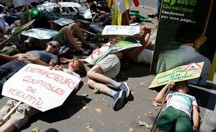 Les associations de malades de Lyme avaient manifesté en juillet 2018 devant le Ministère de la Sante et de la Solidarité.