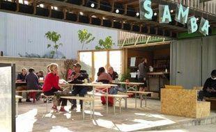Le bar Samba, au beau milieu de 9 000m² de plein air