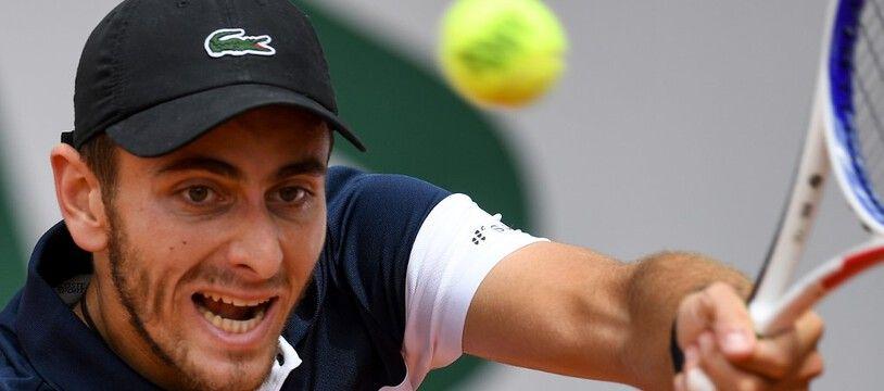 Elliot Benchetrit est sorti dès le premier tour à Roland-Garros.