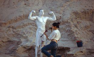Mettre à jour sa statue, le projet d'Eternesia