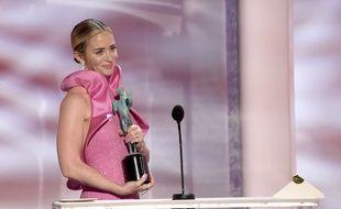 Emily Blunt aux Screen Actors Guild Awards le 27 janvier 2019 à Los Angeles.