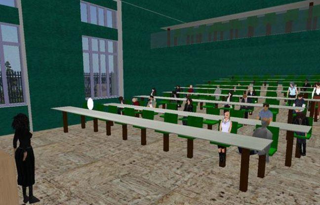 Des étudiants de Lyon-III ont reçu des cours de droit dans l'univers de Second Life et ont obtenu un certificat.
