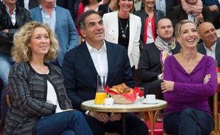 En septmebre 2013, Alba Ventura, Christopher Baldelli et Sidonie Bonnec de RTL