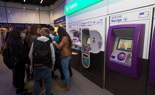 La RATP présentait ses nouveaux services le 29 avril 2014 à la station Charles-de-Gaulle