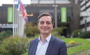 Alain Fontanel, premier adjoint au maire de Strasbourg et candidat LREM aux municipales.
