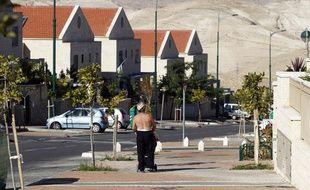 La colonie israélienne de Maale Adumim, près de Jérusalem, le 2 décembre 2012.