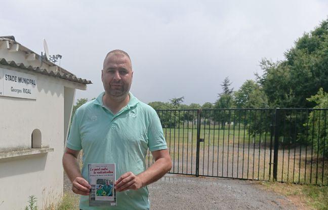 Frédéric Mercadal, éducateur et entraineur du club de foot des Izards, sort son livre