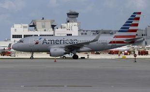Illustration d'un avion de l'American Airlines.