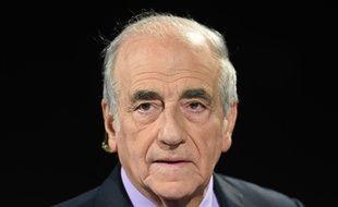 Le journaliste Jean-Pierre Elkabbach, en octobre 2015.