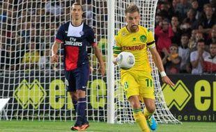 Lucas Deaux face au PSG de Zlatan Ibrahimovic, le 25 août 2013