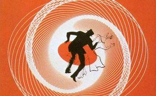 L'affiche de «Vertigo» («Sueurs froides») d'Alfred Hitchcock.