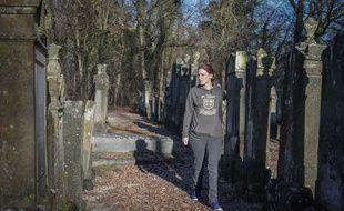 Le cimetière juif de Mackenheim (Bas-Rhin). Anne-Sophie Stockbauer-Zemb, «Veilleurs de mémoire». Le 16 janvier 2020.