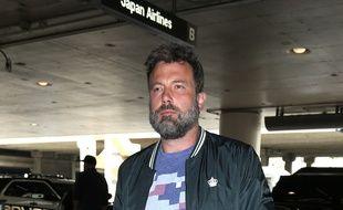L'acteur Ben Affleck arrivant à l'aéroport de Los Angeles