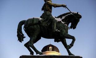 La statue de Jeanne d'Arc à Orléans.