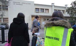 La sécurité est renforcée devant les écoles niçoises.