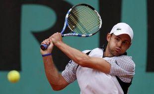 Andy Roddick à Roland-Garros, le 27 mai 2009