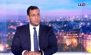 Alexandre Benalla lors de son interview sur TF1.