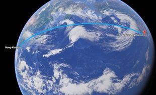 Le cable reliera les Etats-Unis et Hong Kong.