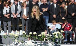 A Nice, les familles ont pu également rendre un vibrant hommage à leurs proches décédés lors de l'attentat du 14 juillet.