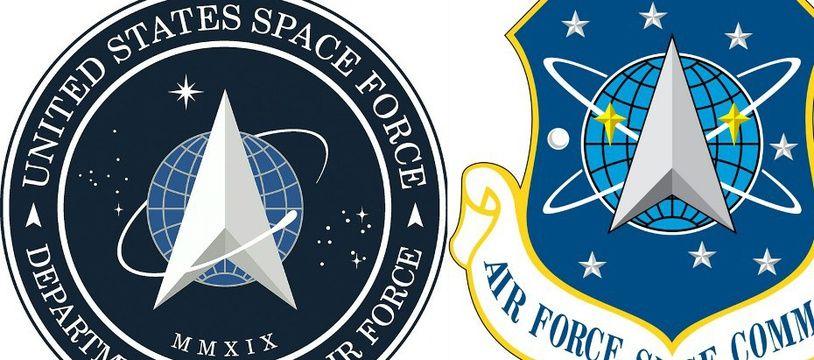 Le logo de la Force de l'espace américaine ressemble à celui de la Starfleet.