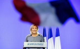 Marine Le Pen va installer son QG de campagne près de l'Elysée