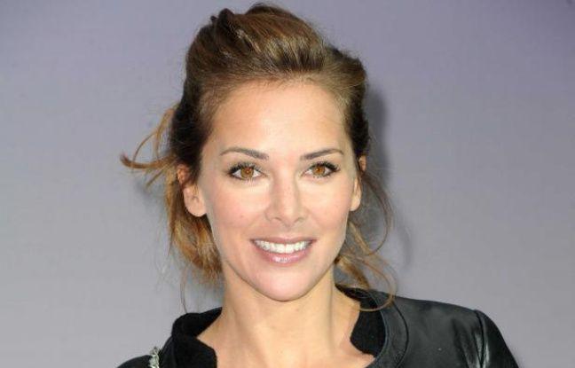 Mélissa Theuriau le 6 mars 2012.