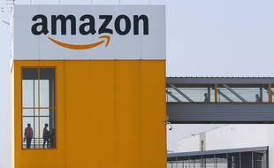 Le site Amazon de Douai, le 9 avril 2020.