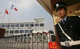 Un site du géant français de la chimie Rhodia, à Liyang, en Chine.