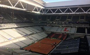 Le toit du stade Pierre Mauroy sera ouvert pour la demi-finale de Coupe Davis
