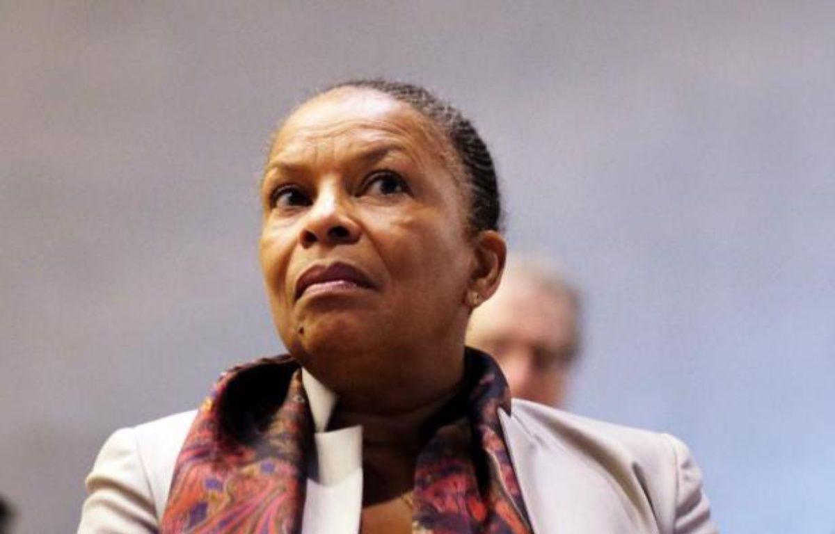 L'ex- ministre de la Justice, Christiane Taubira, le 10 février 2015 à New York. – Jewel Samad AFP