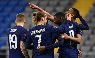 Martial et les Bleus n'ont jamais tremblé au Kazakhstan, le 28 mars 2021.